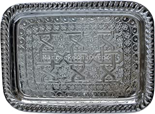 Best moroccan silver tray Reviews