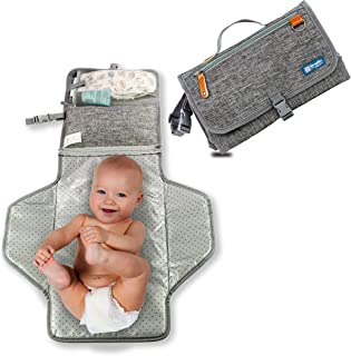 YazzyBoa Portable Changing Pad - Waterproof Baby Changing Mat for Moms and Dads
