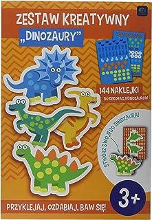 Interdruk ZESKREDIN Creative Set – Dinosaurs, Multi-Color