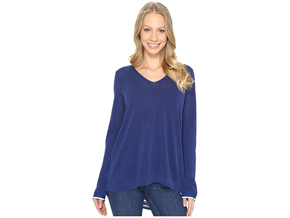 NYDJ Twofer Sweater (Dark Atlantis) Women