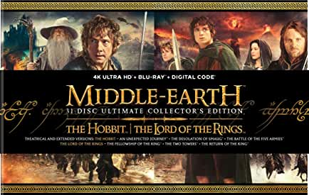 Peter Jackson's Middle Earth Ultimate Collector's Edition arrives on 4K Ultra HD Oct. 26 from Warner Bros.