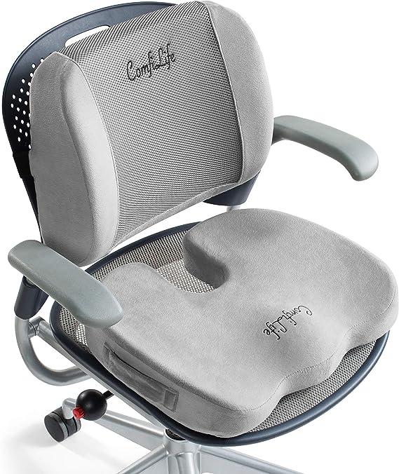 ComfiLife Gel Enhanced Seat Cushion & Lumbar Support Bundle