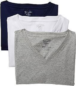 Original Penguin - Slim Fit 3-Pack V-Neck T-Shirt