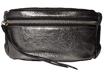 AllSaints Miki Leather Bumbag (Gunsmoke Grey) Handbags