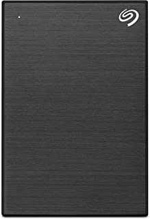 Seagate One Touch 2TB External HHD Drive with Rescue Data Recovery Services, Black (STKB2000400)