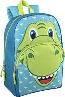 Animal Friends Critter Backpacks With Reinforced Straps (DINO)