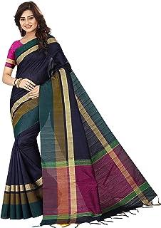 2a9e61c22 Silk Zone Cotton Saree With Blouse Piece (SUNERI2B_Multi-Coloured_Free Size)