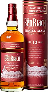 Benriach 12 Years Old Sherry Matured mit Geschenkverpackung Whisky 1 x 0.7 l