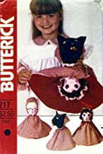 Butterick 4150 Lil Red Riding Hood Reversible, Topsy-Turvy Doll Pattern Vintage