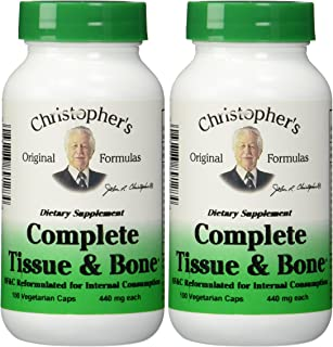 Dr. Christophers Formulas Complete Tissue and Bone 100 X 2