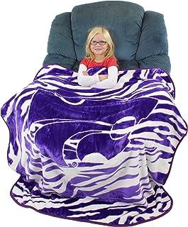 "College Covers Kansas State Wildcats Raschel Throw Blanket, 50"" x 60"""