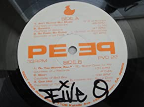2001 Peep Productions PVO 22 Vinyl Lp D12 w/ Eminem, Lil Mo, Outkast w/ Snoop Dogg, RL, Lil Kim, P Diddy, Eastsiders