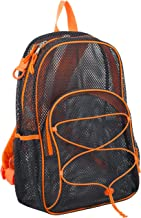 Eastsport Mesh Bungee Backpack With Padded Shoulder Straps
