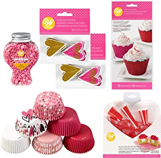 Best valentine cupcake liner Reviews
