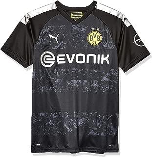 PUMA Men's BVB Away Shirt Replica with Evonik Opel Logo