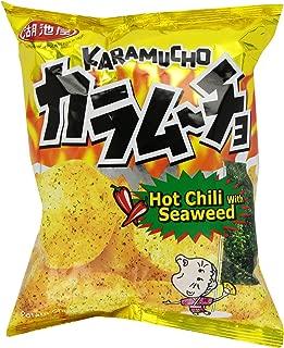 Koikeya Karamucho Potato Chips, Spicy Seaweed, 2.01 Ounce (Pack of 12)