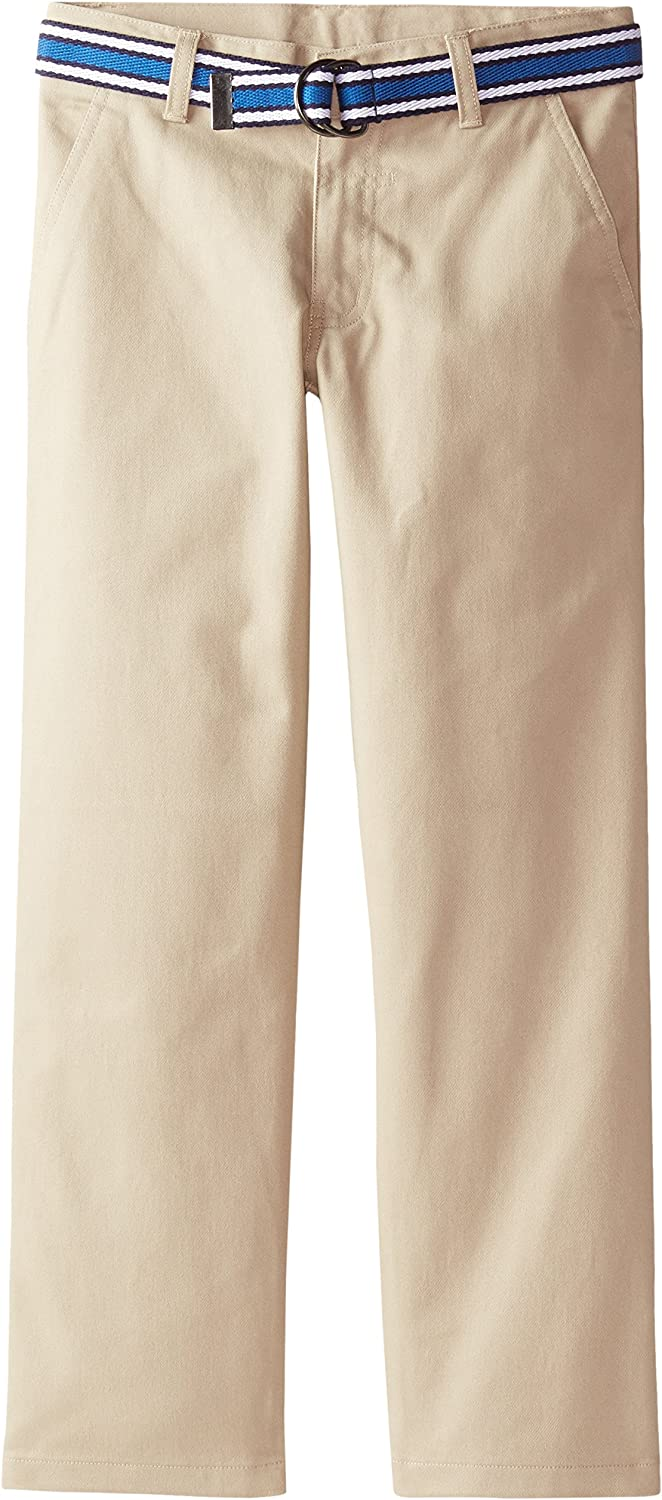 French Toast Boys Straight Leg Belted Pant