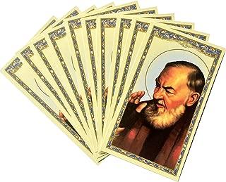 Saint Padre Pio Holy Card -Prayer to Padre Pio