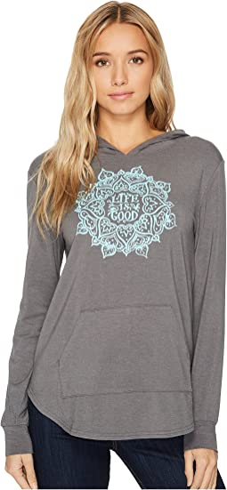 Life is Good - Mandala Supreme Hooded Pullover