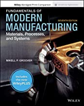 Fundamentals of Modern Manufacturing: Materials, Processes and Systems