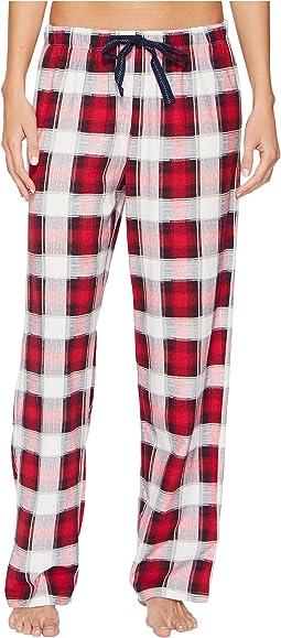 Jockey - Printed Plaid Long Pants