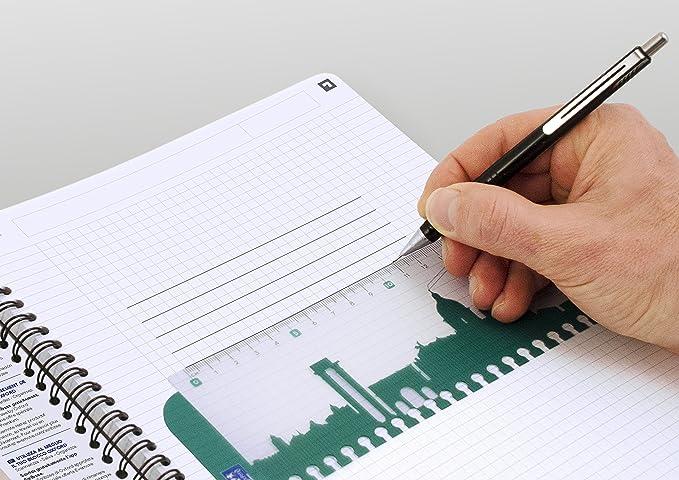 Oxford R/éf N002982 Office  Lot de 5  Cahier Couverture polypropyl/ène Reliure int/égrale 90 g//m/² Lign/é 180 pages A4 Noir Import Royaume Uni