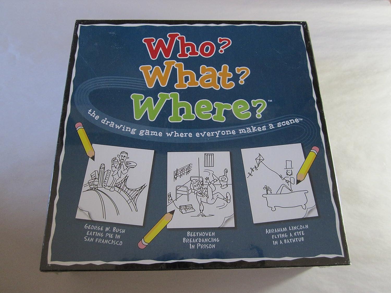 precios mas baratos Who What Where Juego by JNH by JNH JNH JNH  mas barato