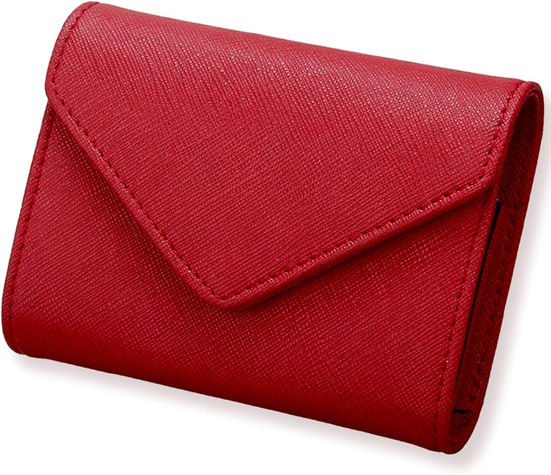 Women's RFID Block Microfiber Leather Secure Credit Card Holder Accordion Wallet