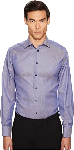 Eton Contemporary Fit Textured Solid Shirt
