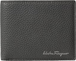 Salvatore Ferragamo - Textured Leather Bifold