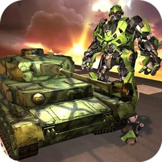 Future Tank Robot City Battle Game