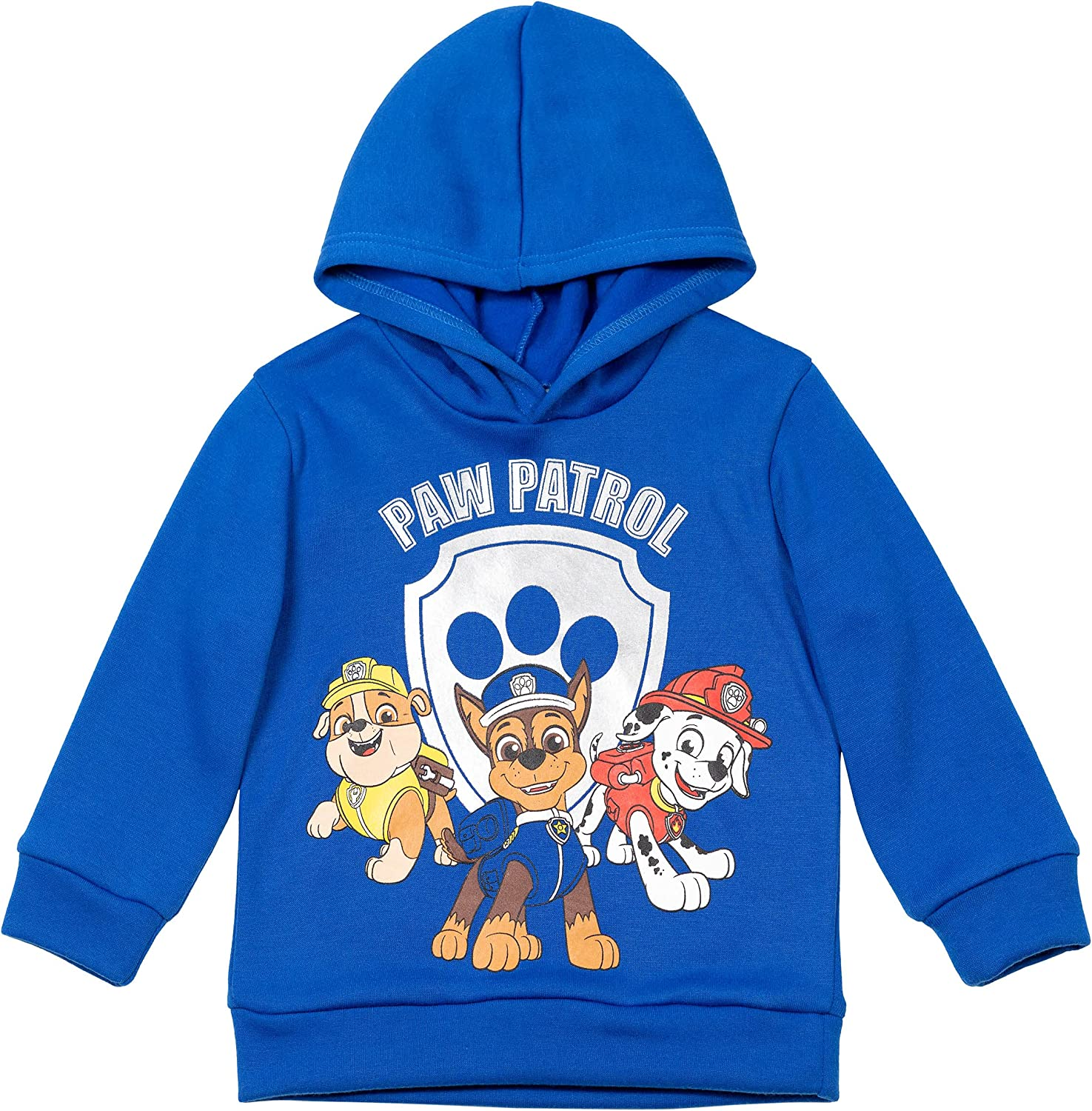 Nickelodeon Paw Patrol Toddler/Little Boys Fleece Pullover Hoodie: Clothing, Shoes & Jewelry