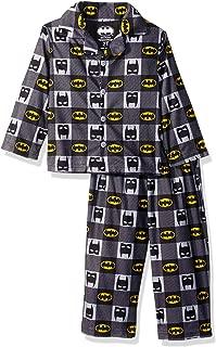 Toddler Boys' Batman 2-Piece Pajama Coat Set
