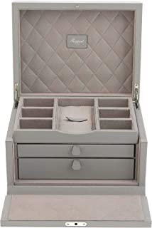 Rapport Berkeley Grand Jewelry Box (Grey)