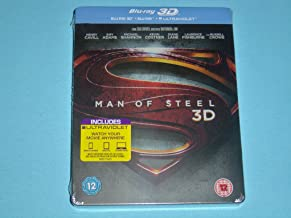 Man of Steel - 1st Printing Limited Edition Blu-Ray 3D/2D Steelbook Edition Region Free