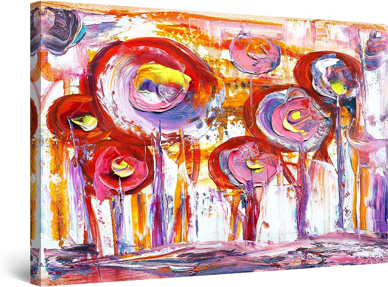 Startonight Canvas Wall Art Abstract Trees Decor - 新作アイテム毎日更新 Grunge 新作販売 Purple