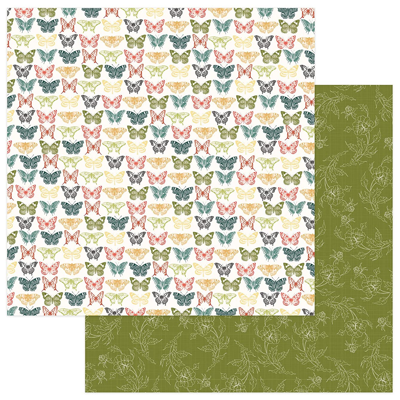 Photo Play Paper Tradition Memory Lane Double-Sided Cardstock 12