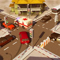 Image: City Traffic Control Simulator 2018: Traffic Lanes Rush Intersection Controller Games For Free