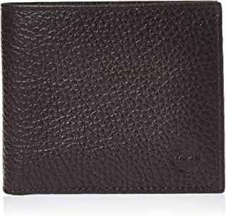 Timberland Mens Wallets, Card Cases & Money Organizers Bifold With Coin Wallet,Brown (Dark Brown)