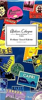 Atelier Cologne Perfume Travel Palette 8 Piece x 0.07 Oz Mini Set : Clementine California, Vanille Insensee, Cafe Tuberosa, Cedre Atlas, Iris Rebelle, Rose Anonyme, Orange Sanguine, Grand Neroli