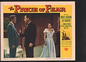 MOVIE POSTER: Price of Fear Lobby Card #8-1956-Merle Oberon