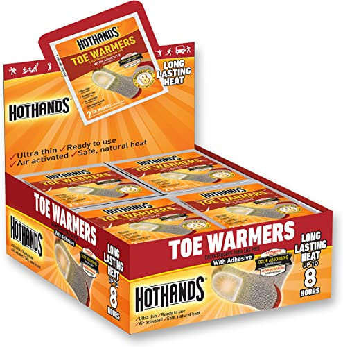 HotHands Toe Warmers 40 Pair by