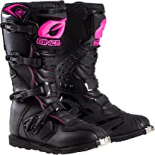 O`Neal 0325-710  Womens New Logo Rider Boot (Black/Pink, Size 10)