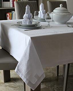 Manteles y servilletas de algodón 100% - diseño GEOMETRICO