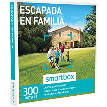 SMARTBOX - Caja Regalo - ESCAPADA EN FAMILIA - 300 hoteles urbanos ...