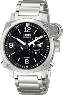 Men's 690 7615 4164 MB BC4 Flight Timer Analog Display Automatic Self Wind Silver Watch