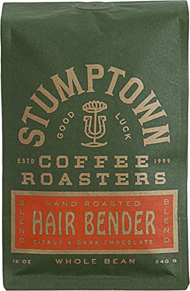 Stumptown Coffee Roasters Whole Bean Coffee Hairbender Sweet And Balanced Espresso Indonesian Latin American African Coffee Blend Perfect For Espresso Drip Or French Press Brewing 12 Ounce