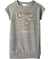 Chloe Kids - Mini Me Faded and Pelicans Short Sleeve Dress (Toddler/Little Kids)