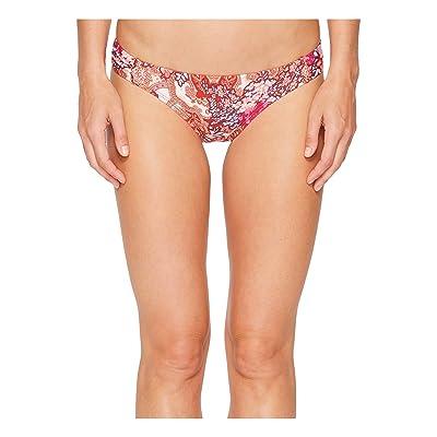 Laundry by Shelli Segal Floral Paisley Tab Side Hipster Bikini Bottom (Spice) Women