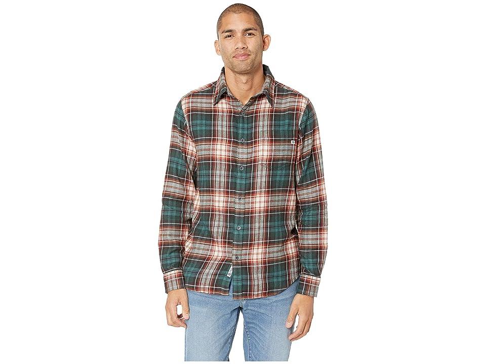Marmot Fairfax Midweight Flannel Long Sleeve (Mallard Green) Men
